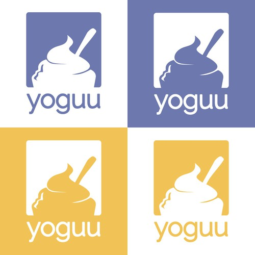 Concept logo for yoguu