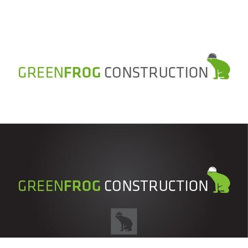GREENFROG CONSTRUCTION needs a new logo