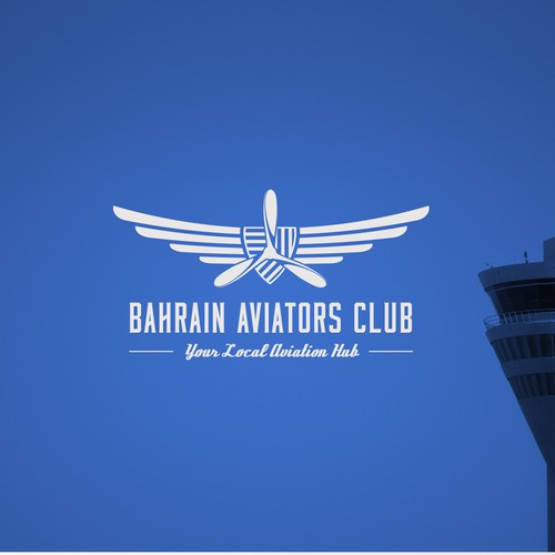 Logo design for an aviation club