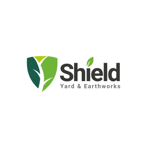 Create an eyecatching/appealing logo for Shield Yard & Earthworks