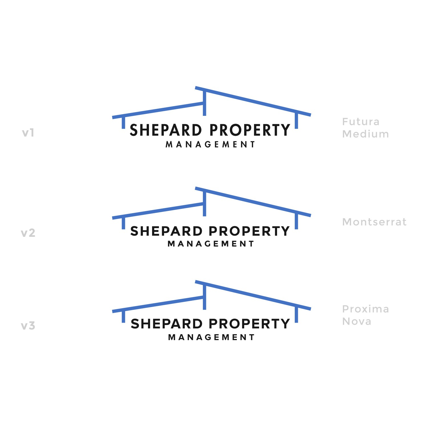 Cutting edge logo for new property management firm - High Road Properties