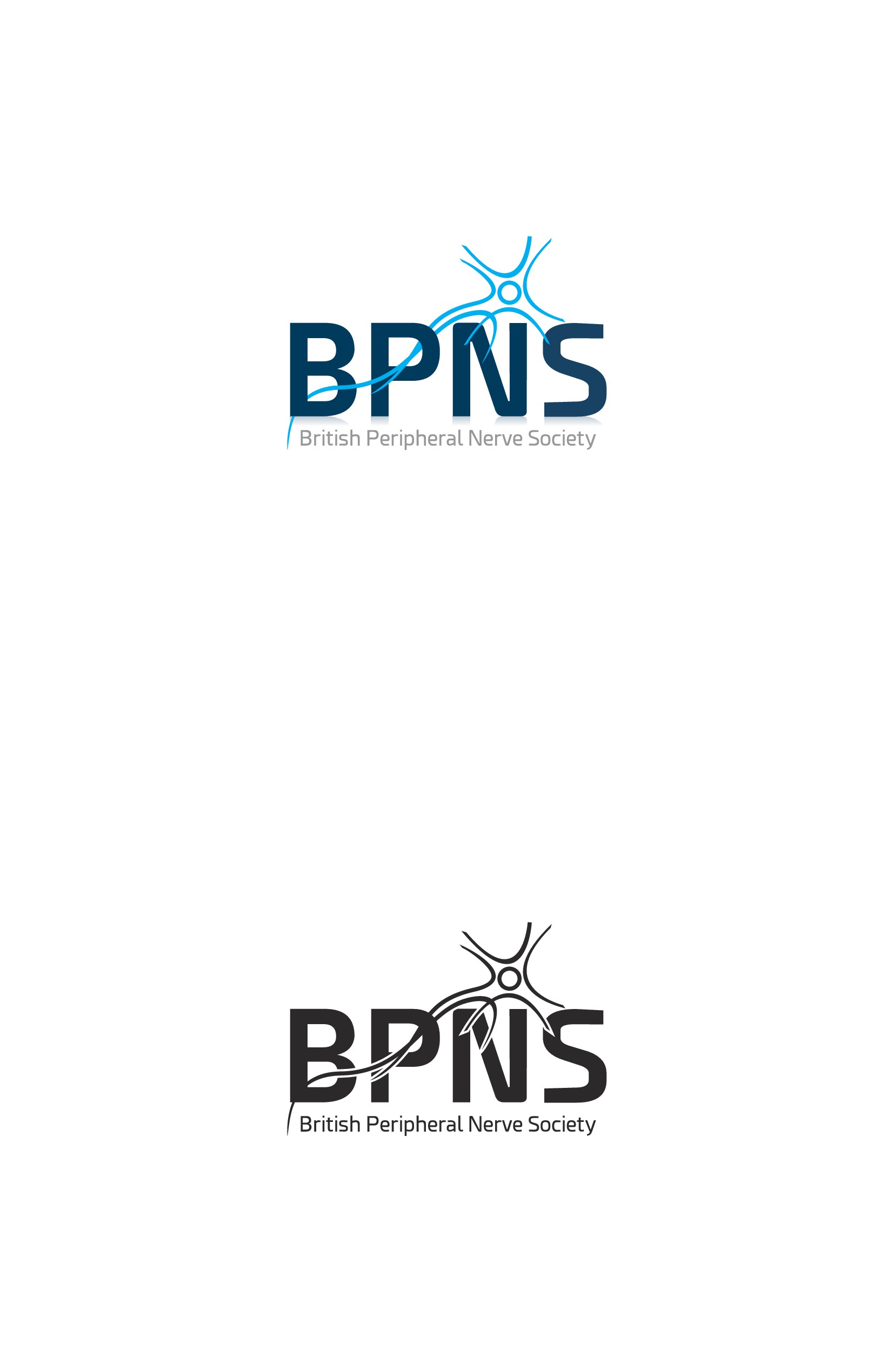 Design a stylish logo for a national society (BPNS)
