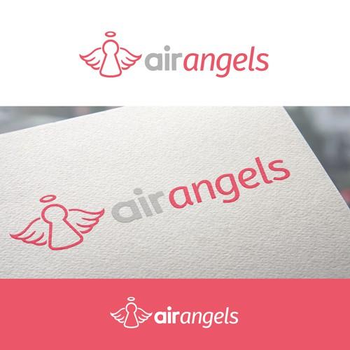 air angels logo design