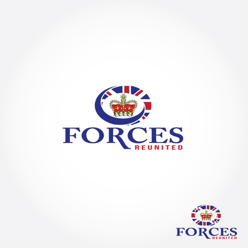 New Logo design for Forces Reunited