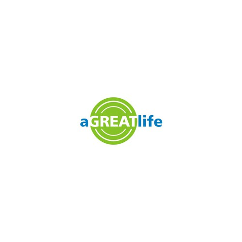 Elegant logo for a brand called aGreatLife