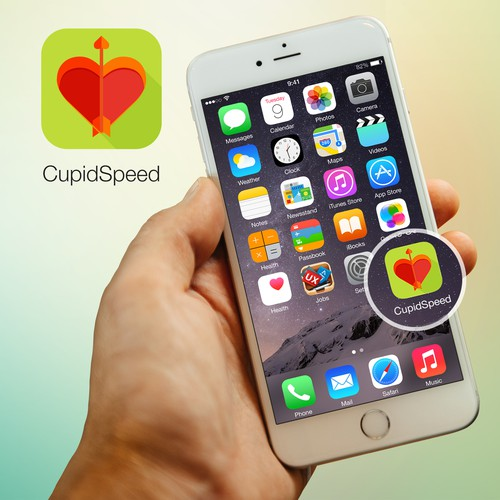 Icon design proposal for Cupid Speed app