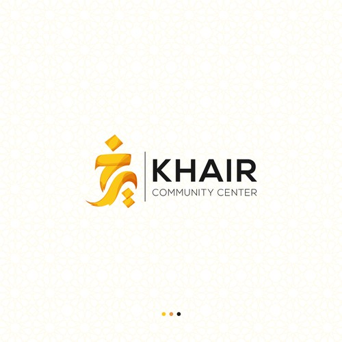 Islamic (Arabic Calligraphic) Logo for Khair Community Center