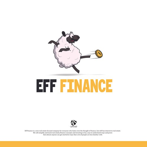 EFF FINANCE Fun Logo Design