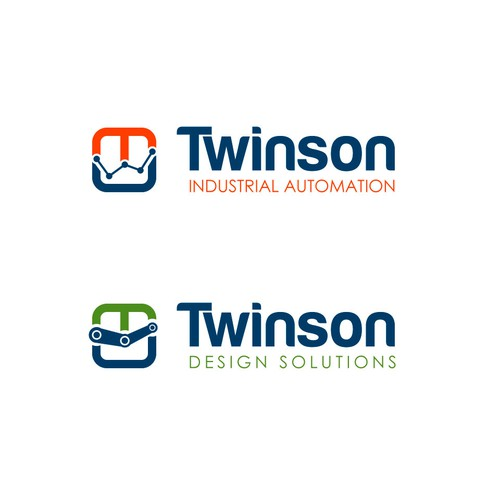 A modern simple design for Twinson Industrial Automation