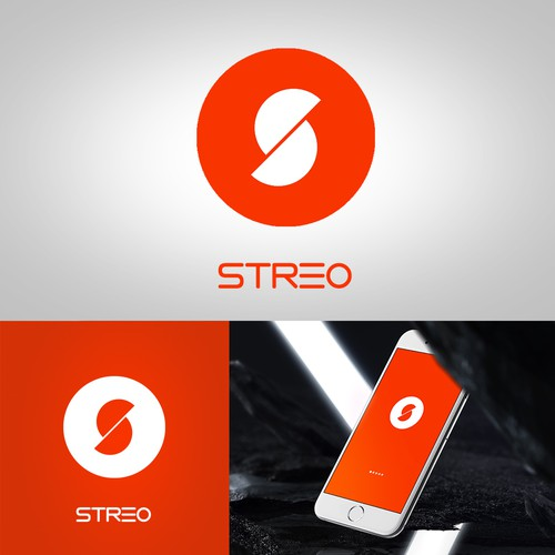 amazing logo for a music streaming app