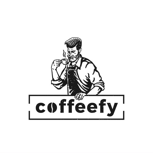 Coffeefy logo design