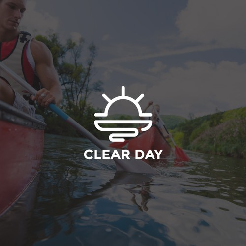 Minimal logo for Clear Day