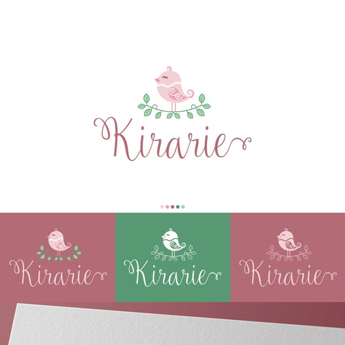 Kirarie is an ear acupressure weight loss salon. The name comes from the words, きれい (beautiful), 楽 (comfortable, easy), リラックス (relax), and 笑顔 (smile).