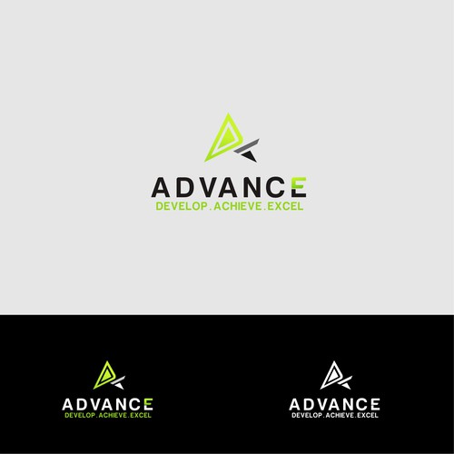 Logo concept for advance