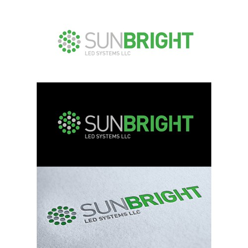 Logo for Sunbright - Save businesses money and save the environment