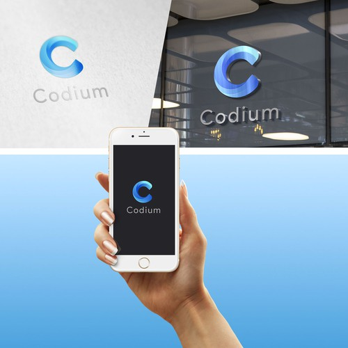 Codium logo design