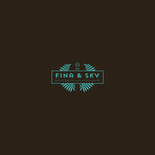A logo for handcrafted lifestyle design items manufacturefs from NY.