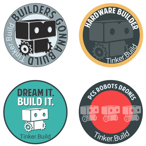 Stickers for an IT company