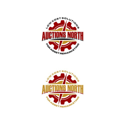 Heavy Equipment Online Auction Logo
