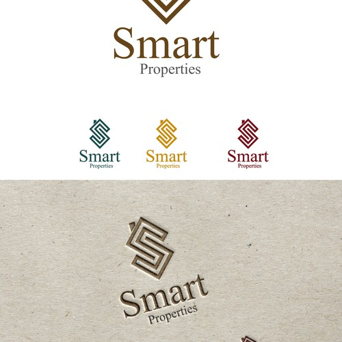 ELEGANT/RUSTIC LOGO FOR BUSINESS PROVIDING CUSTOM HOME BUILDING AND RENOVATIONS