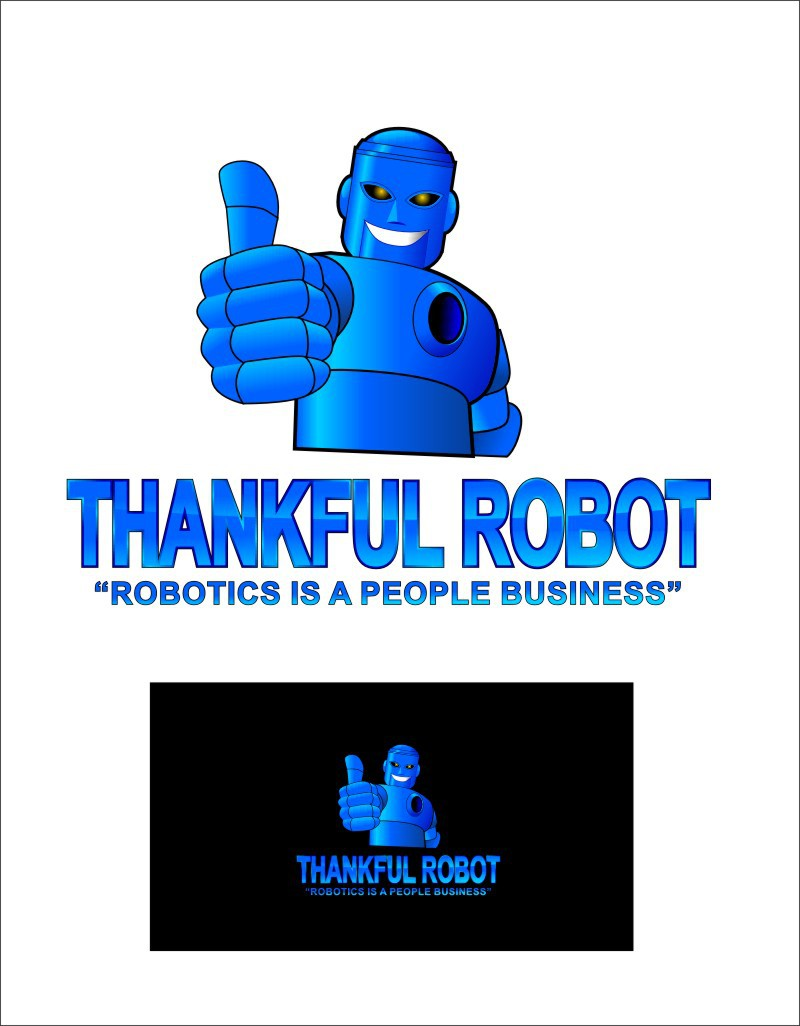 Help Thankful Robot with a new logo