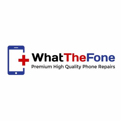 Logo concept for phone repairs