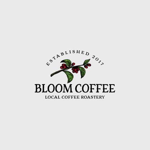 Logo Concept Blool Coffee