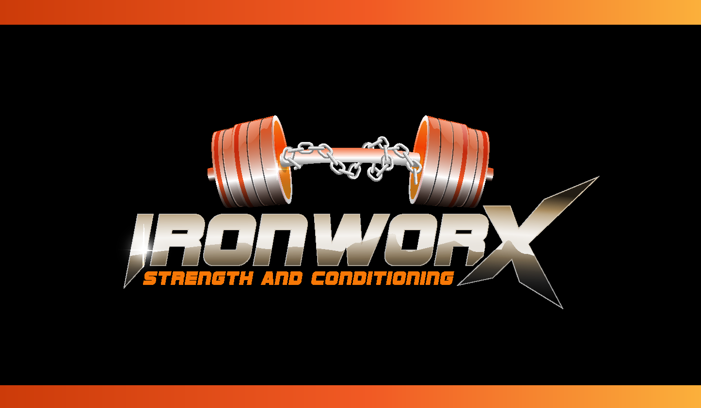Iron Worx Strength and Conditioning needs a new logo