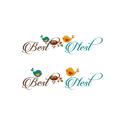 Create a nurturing logo for Best Nest daycare