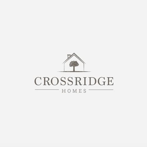 Logo design for Crossridge Homes