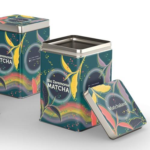 Matcha Brand Packaging
