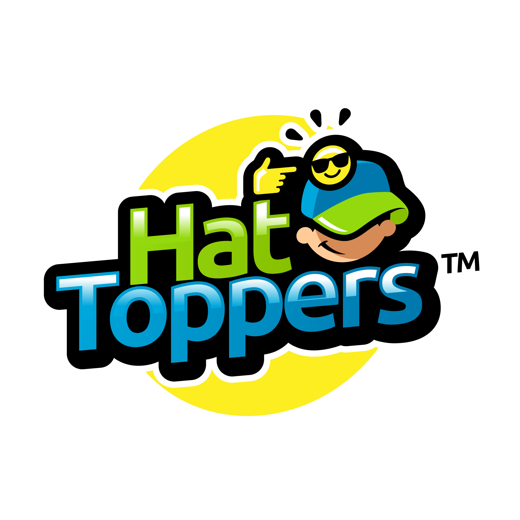 Design an eye-catching logo for Hat Toppers