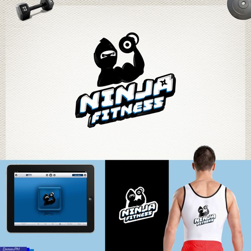 Help Ninja Fitness with a new logo