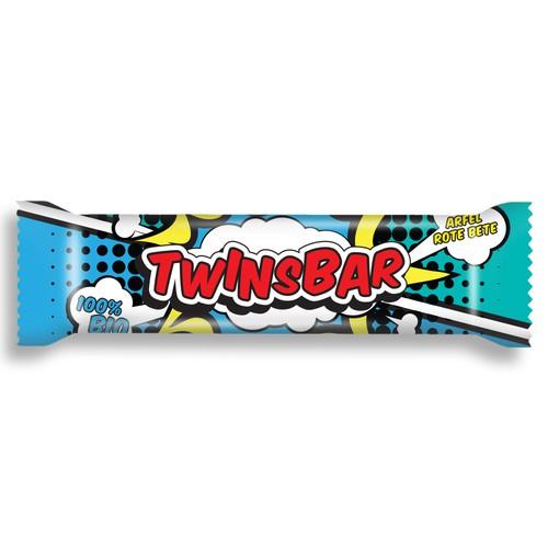 Energy bar packaging design
