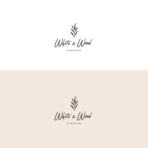 Logo concept for a brand of essential oils