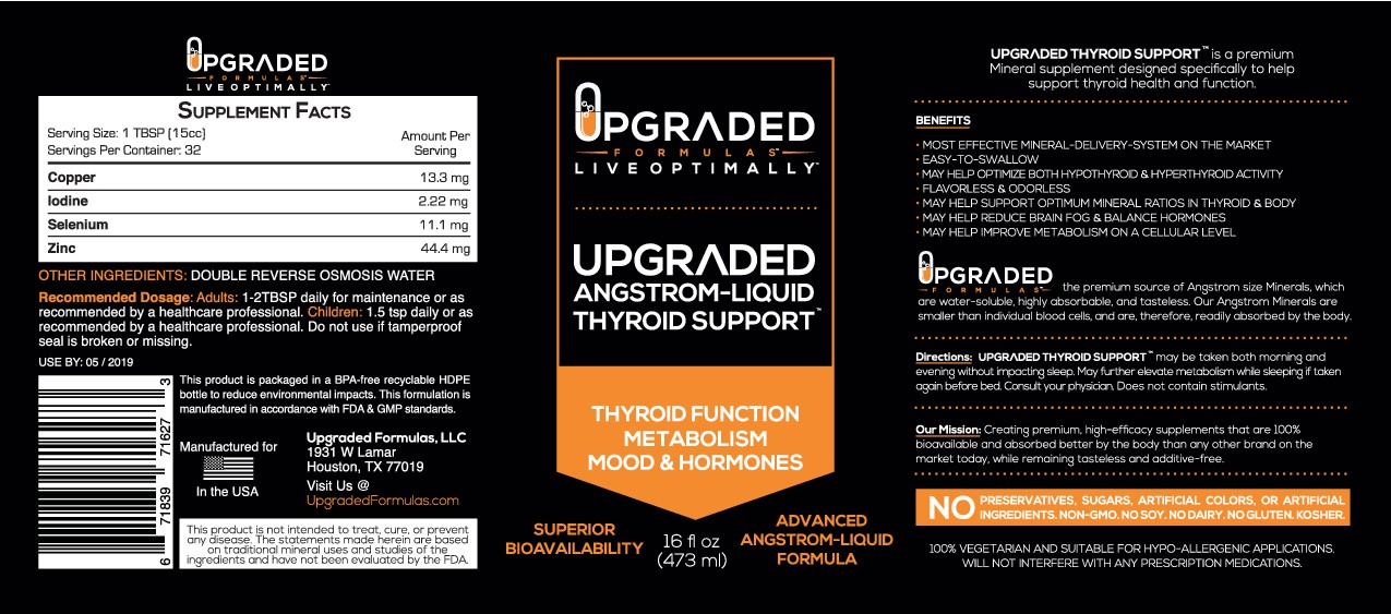 Create a BOLD & INSPIRING Label for an advanced liquid supplement company by following the document
