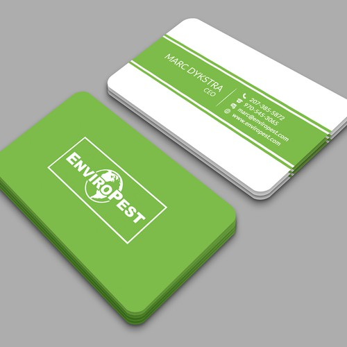 Design a jaw dropping business card for EnviroPest!