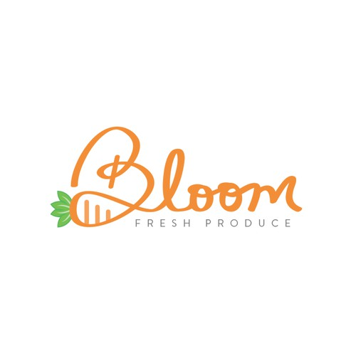 Bloom logo concept
