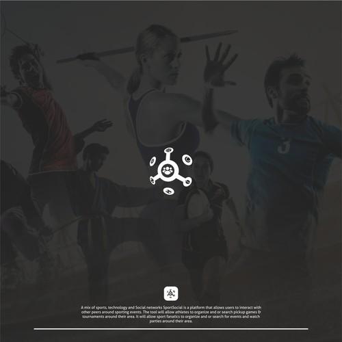 Technology Sport Logo