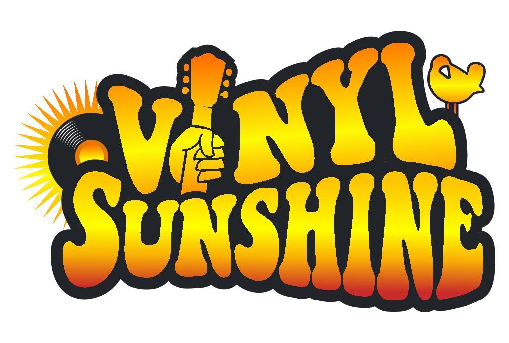 Vinyl Sunshine needs an uplifting retro, 60s/70s BAND logo