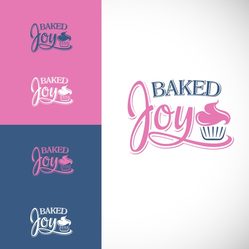 Creating a new logo for a growing bakery named Baked Joy