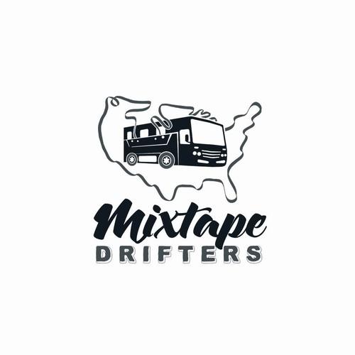 Logo for mixtape drifters