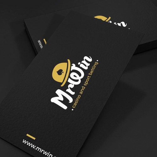 Logo and business card for MrWin