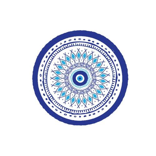 round towel pattern design
