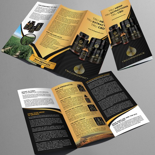 Bold Brochure for TRU Organics
