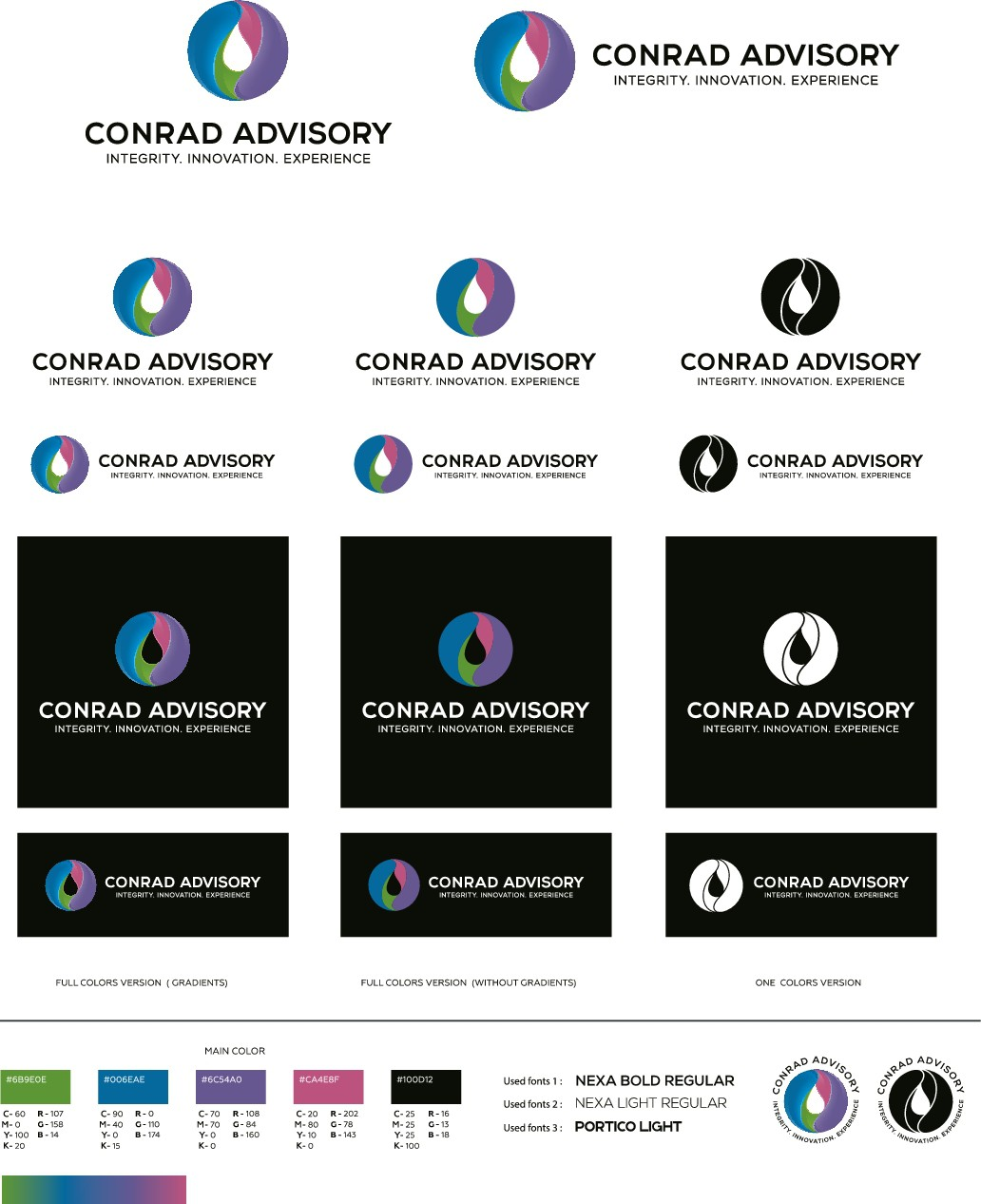 Create a vibrant, powerful and classy logo
