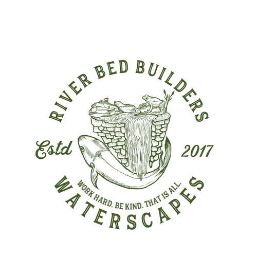 RIVER BED BUILDER WATERSCAPES