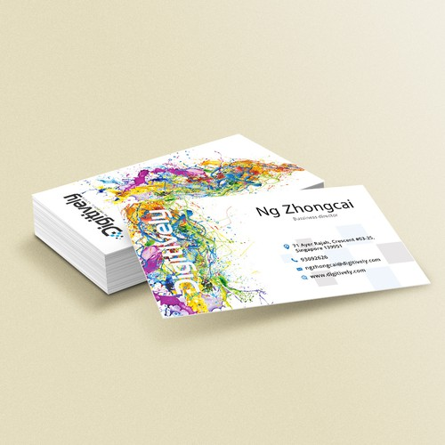 Bussiness card for Digitively