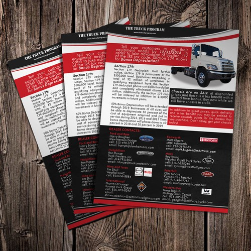 The Truck Program Flyer