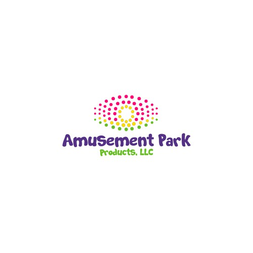 Funny logotype for Amusement Park Products, LLC